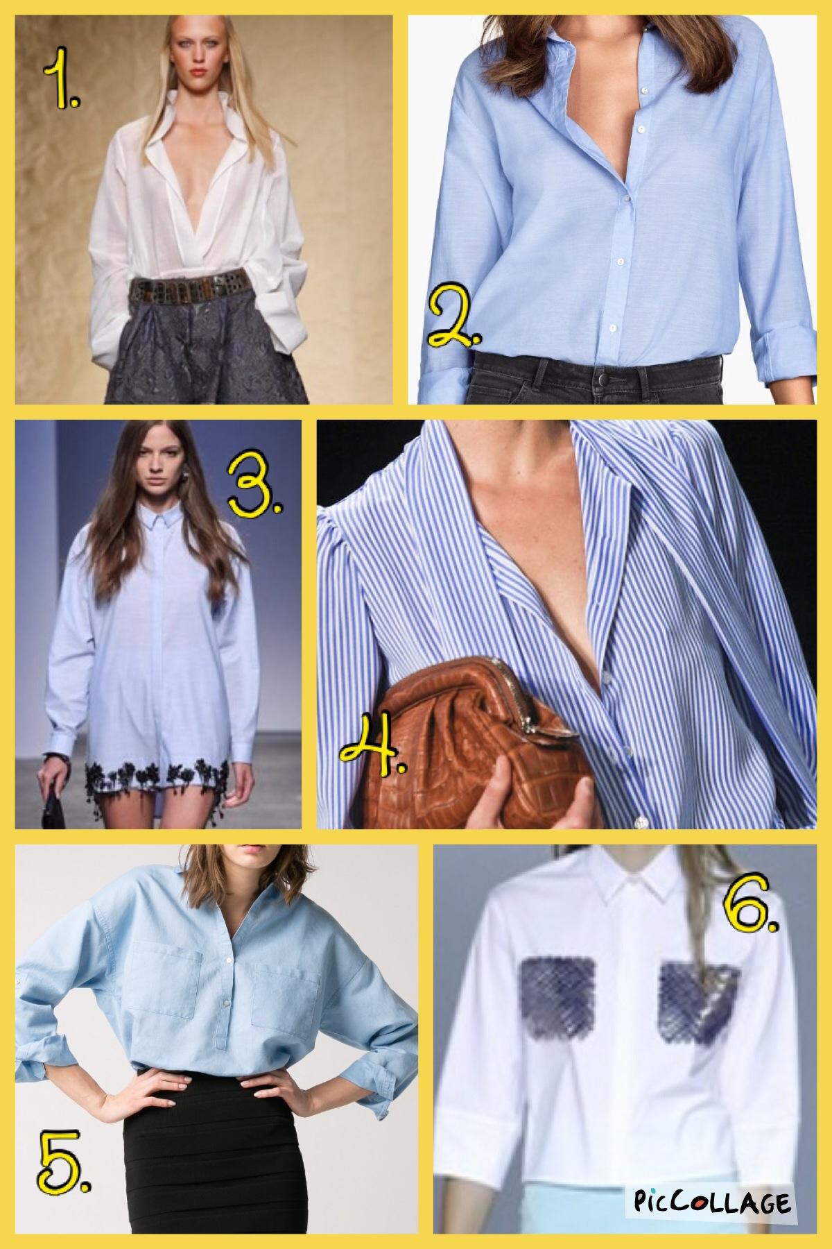 nuovi stili 1a5f5 38c64 Le donne portano la camicia…da uomo!! | Stasera GusTiamo
